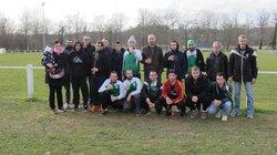 hommage a notre coatch de l equipe B  pour son dernier match avec les vert et blanc - Association Sportive de Saint-Viance