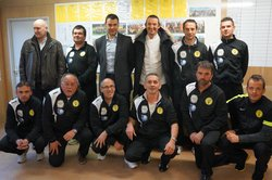 PHOTO REMISE SURVETEMENT - AS TROUVILLE DEAUVILLE FOOTBALL