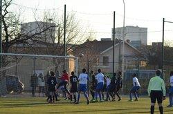 macht très bien négocier par les joueurs  et l entraineur de l asvel 3  à l asul gagner 0 / 2 - ASVEL FOOTBALL   Villeurbanne