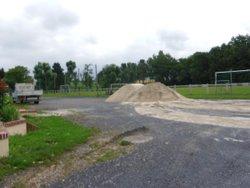 Remise en état du terrain de Turretot ( 60 tonnes de sable ) - ATHLETI'CAUX Football Club
