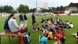 Fête de l'école de foot - Juin 2017 - Avenir Mourenxois