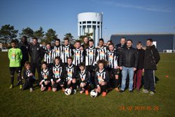 remise officielle maillots offerts par SUNSET (Olivier LEBRAN) - AS BERCK FOOTBALL