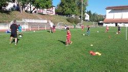 entrainement  des jeunes  - BIDACHE SPORT FOOTBALL
