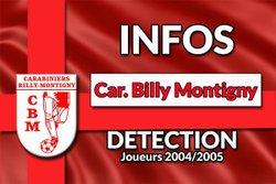 Détection joueurs nés en 2004/2005