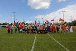 CEREMONIE D'OUVERTURE EURO 2016 U13 A MONTLOUIS SUR LOIRE - BORDEAUX ATHLETIC CLUB