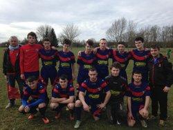 Equipe U18 du 10 Mars 2018, victoire 1-0 contre Jura Serre 2, buteur Pernot Lucas. - FOOTBALL  CLUB    BRENNE-ORAIN
