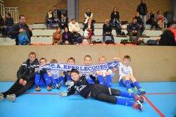 Nos jeunes terminent 3ème sur 20 au tournoi de Tilloy Les Mofflenes