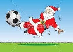 Arbre de Noel pour l'école de foot au CAE