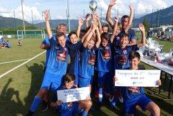 St Pierre remporte le tournoi U13 à Marignier pour le plus grand bonheur des joueurs. - Club Sportif de Saint-Pierre
