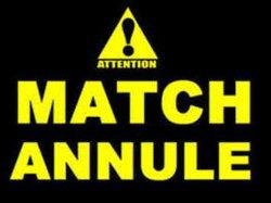 MATCH  CONTRE CHEMINOTS DE CHALONS  ANNULE
