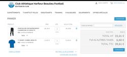 KIT ENTRAINEMENT BOUTIQUE DU CLUB - Club Athlétique Harfleur Beaulieu Football
