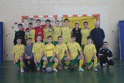 MATCH U18 EN FUTSAL match de gagné 3-0 contre vallée de l'isle, match gagné 3-0 contre montpon et match perdu 0-3 contre ntre dame. et 1 de perdu 0-3 - CA RIBERACOIS