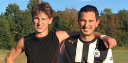 Les frères GEDRO de nouveau réunis au sein du club. - LA COMBELLE CHARBONNIER ASSOCIATION BREUIL