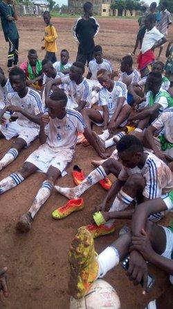 Officiellement champion minime du Mali saison 2017 2018 - centre de football ibrahim coulibaly de banankoro