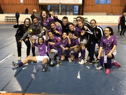 Les violettes remportent le tournoi en salle du FC2A - CLAIX FOOTBALL