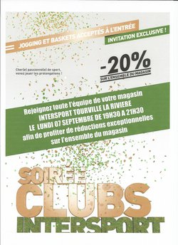 Intersport ouvre ses portes pour une soirée club