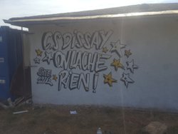 Fresque Murale - Local Technique - Club Sportif de Dissay