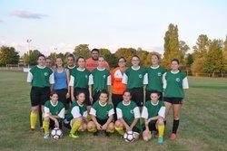 Matchs amical 31 Aout 2018 – Equipe Sénior Féminine: C.S.D / Vivonne : 3-0 - Club Sportif de Dissay