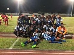 U17 Champion de Guadeloupe - CLUB SPORTIF MOULIEN