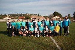 Seniors Féminines VS Artas Charantonnay FC - CVL 38 FOOTBALL CLUB