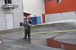 les U6-U7 chez les pompiers - Association Sportive Domeratoise