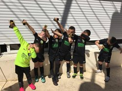 Les U6 remportent le tournoi de Contes (2017) - DRAP FOOTBALL