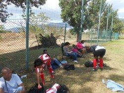 U13 A, Samedi 09 septembre à la Rivière des Galets - Ecole de Foot Saint Gilles