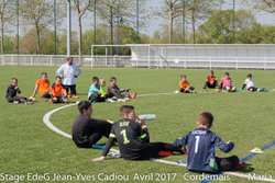 STAGE EdeG Avril 2017 : Mercredi 12 Matin Lot-2 - Ecole de gardien de but Jean-Yves Cadiou