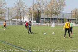 STAGE EdeG Avril 2017 : Mercredi 12 Après-Midi - Ecole de gardien de but Jean-Yves Cadiou