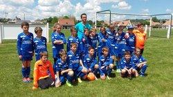 L'EFCV à Espinat, très bon résultat pour les deux équipes U11 classées 3ème et 7ème. - Entente Football Châtaigneraie Veinazes