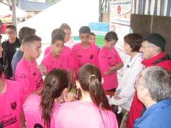Tournoi U15 de la Châtaigneraie et surtout sortie Kayak - Entente Football Châtaigneraie Veinazes