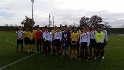 09-12-17 8e De Finale Coupe Tarn & Garonne U17 - Ecole de Football des Deux Rives 82