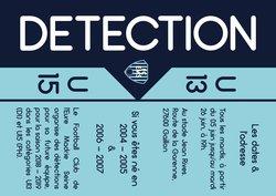 DETECTION U15 & U13