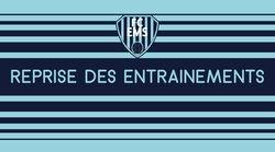 REPRISE ENTRAINEMENTS ECOLE DE FOOTBALL