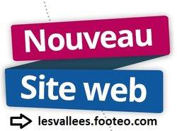 Les Vallées FC: nouveau club, nouveau site!