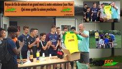 Repas + Cadeau de départ pour Jean Marc entraineur U15 saison 2017 2018  Le Samedi 26 Mai 2018 - FONTENAY EN PARISIS FC - Erwan75.Footeo.com