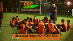 Match Amical Fontenay Football Club vs Villiers Le Bel  le 16 Septembre 2017 - FONTENAY EN PARISIS FC - Erwan75.Footeo.com