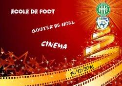 GOUTER DE NOEL DE L'ECOLE DE FOOT