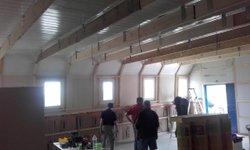 Travaux de rénovation du Club House - Etoile Sportive PLOUNEVENTER
