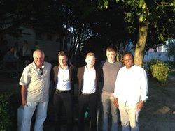 Réception des arbitres de la phase finale de la coupe de Picardie à Longueau le 25 mai 2017 par M. SAMOUNA Norbert, responsable des arbitres du Club. - ESCL | Etoile Sportive des Cheminots de Longueau