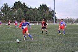 Coupe de Vendée GJ U18 contre Mouilleron/Generaudière défaite 3 à 0 - Entente Sportive du Château d'Olonne