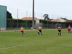 GJ U18 Féminine contre TVEC Défaite 4 à 2 ⚽ - Entente Sportive du Château d'Olonne