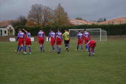 GJ U18 contre Oulmes , Victoire 5 à 4 - Entente Sportive du Château d'Olonne