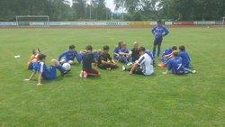 Match de foot et amitié avec les footballeurs allemands - Entente Sportive Municipale Condéenne
