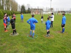 Après-midi éducatif : Atelier étirements catégorie U13 - Entente Sportive Municipale Condéenne