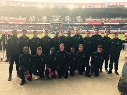 Les jeunes du club ont été les ramasseurs de balle lors des deux premiers matchs à domicile du PSG.