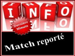 matches reportés