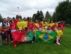 Les U13 à LAVAL (tournoi Michel Le Milinaire) le 17 juin2018 - ES SEGRE HA FOOTBALL