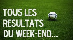 RESULTATS DU WEEK END 18 ET 19 MARS 2017