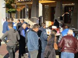 Photos de la vente des boudins le 18-11-2017 - Eveil Sportif Lamurien